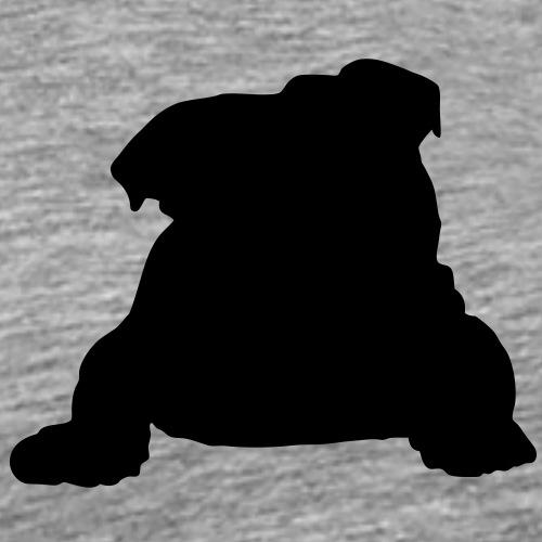 Englische Bulldogge - Männer Premium T-Shirt