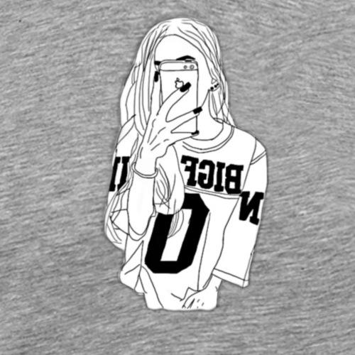 Hiphop Girlie - Männer Premium T-Shirt