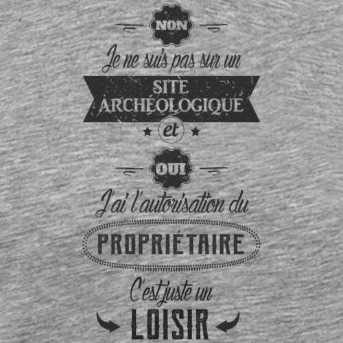 juste un loisir v2_noir - T-shirt Premium Homme