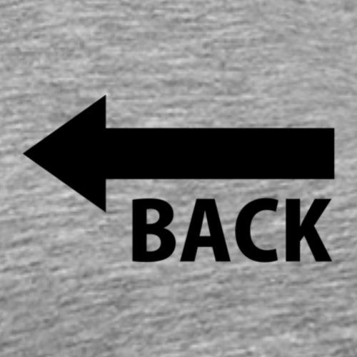 BACK - Camiseta premium hombre