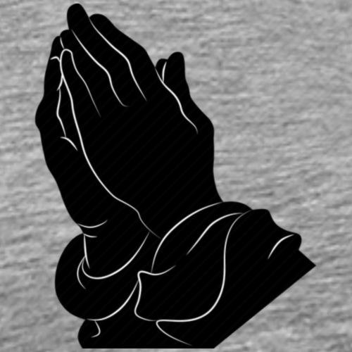 Pray logo - Männer Premium T-Shirt
