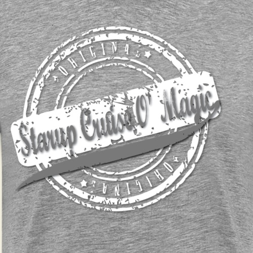 starup cruise o magic logo3 - Herre premium T-shirt