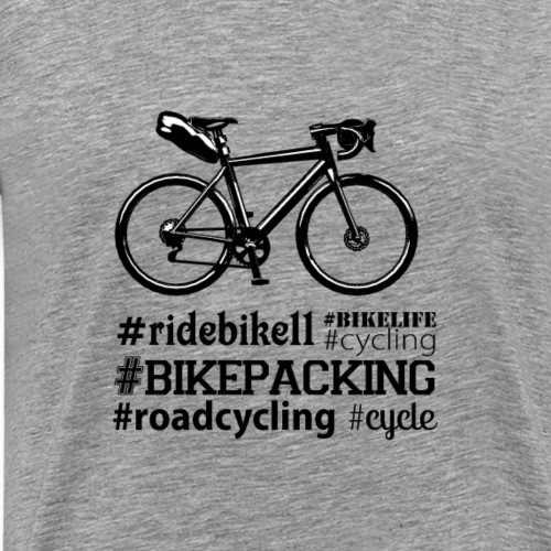 #Bike Road - T-shirt Premium Homme