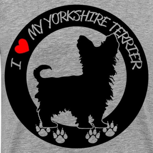 witziges cooles yorkshire terrier t shirt geschenk - Männer Premium T-Shirt