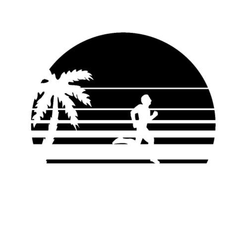 Läufer, Laufen, Running, Runner Strand Beach