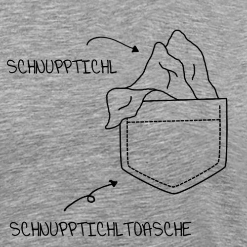 Schnupptichl - Oberlausitzer Fanartikel - Männer Premium T-Shirt