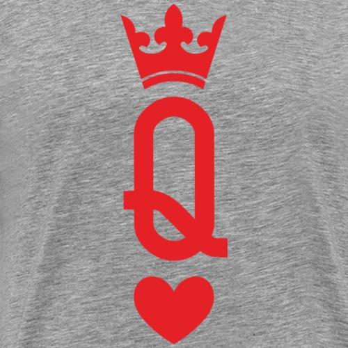 Queen of Cards - Men's Premium T-Shirt