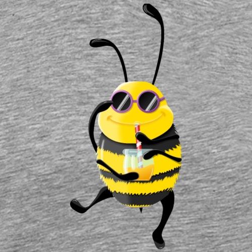Abeille cool et son miel - T-shirt Premium Homme