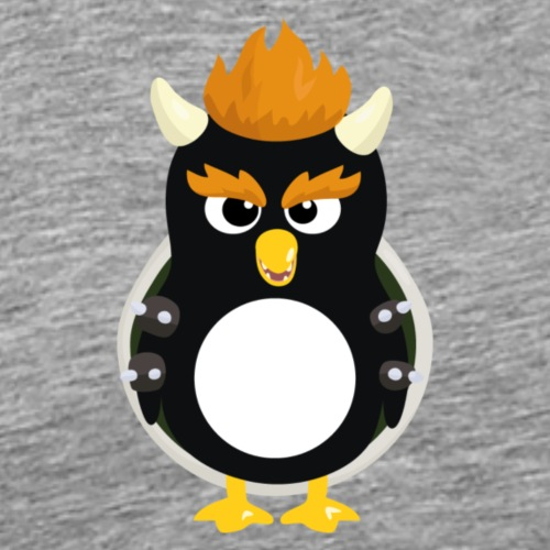 Pingouin Bowser - T-shirt Premium Homme