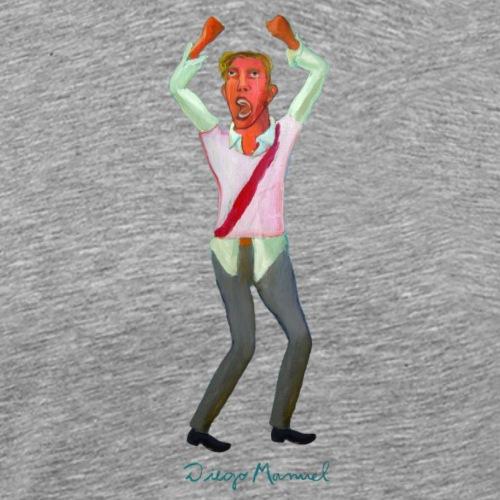 fanático del fútbol - Camiseta premium hombre