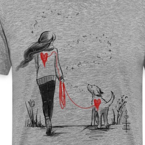 Heart to heart - Männer Premium T-Shirt