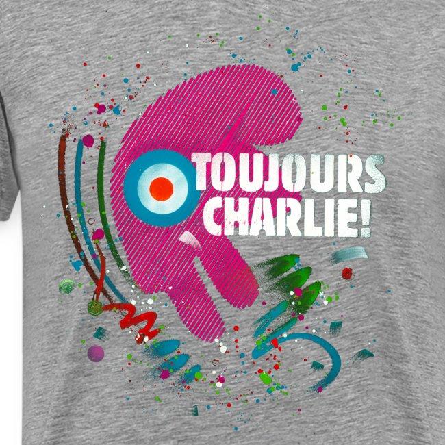 Toujours Charlie interprété par l'artiste C215