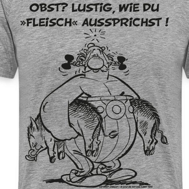 Asterix Obelix Obst Fleisch lineart