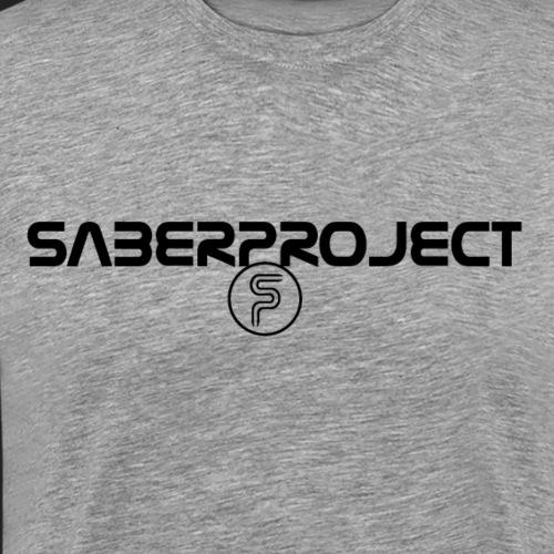 Saberproject Schriftzug - Männer Premium T-Shirt