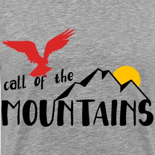 call of the mountains Wandern Mountain Outdoor - Männer Premium T-Shirt