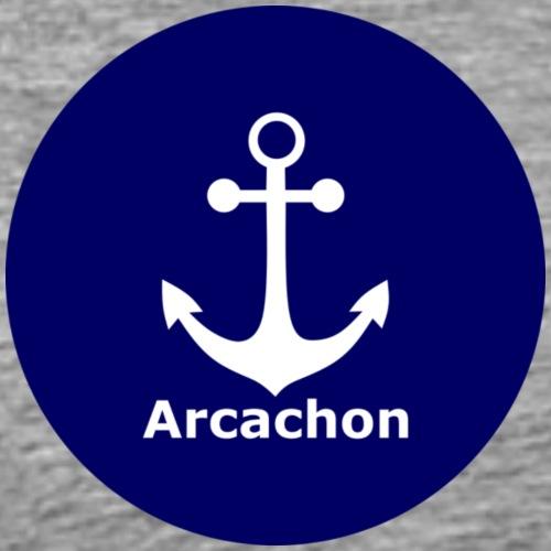 Arcachon Ancre blanc - Men's Premium T-Shirt
