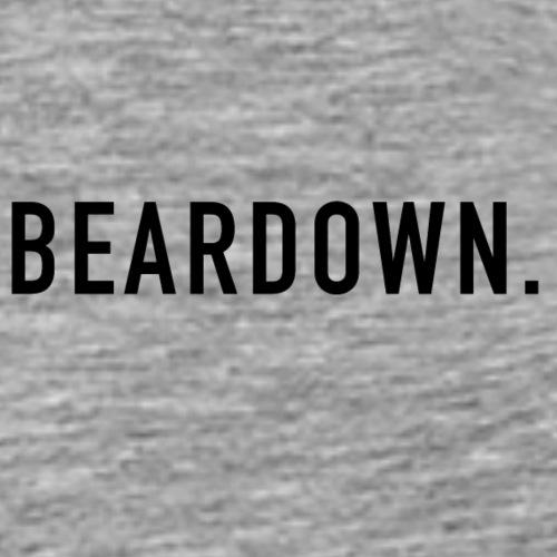 BEARDOWN Brand, classic, black - Männer Premium T-Shirt