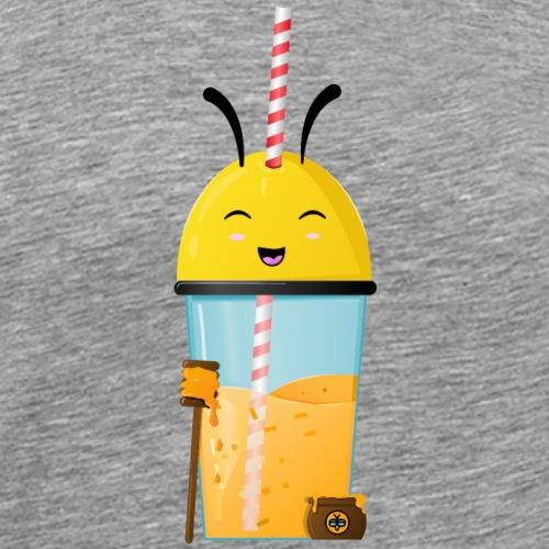 Abeille cocktail au miel - T-shirt Premium Homme