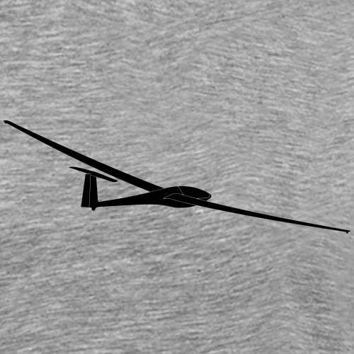Segelflugzeug 400 Segelflieger Geschenk Tshirt - Männer Premium T-Shirt