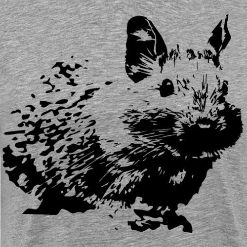 Degus | Süßer Degu | Stilisiert | Geschenk Halter - Männer Premium T-Shirt