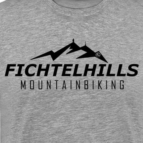 Fichtelhills MTB mit Logo - Männer Premium T-Shirt