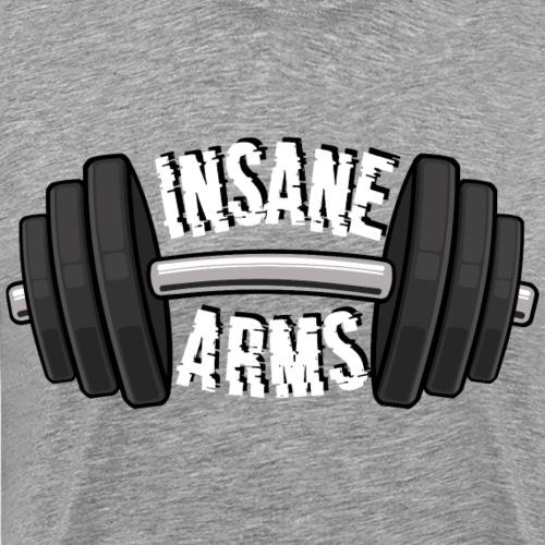 Insane arms - Camiseta premium hombre