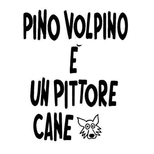 Pino volpino è un pittore cane - Maglietta Premium da uomo