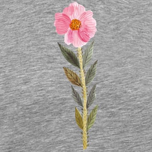 112016603 143236801 Flower - Männer Premium T-Shirt