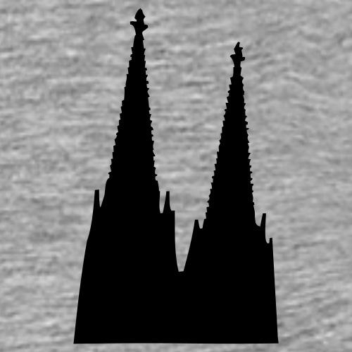 Der Kölner Dom in Köln - Männer Premium T-Shirt