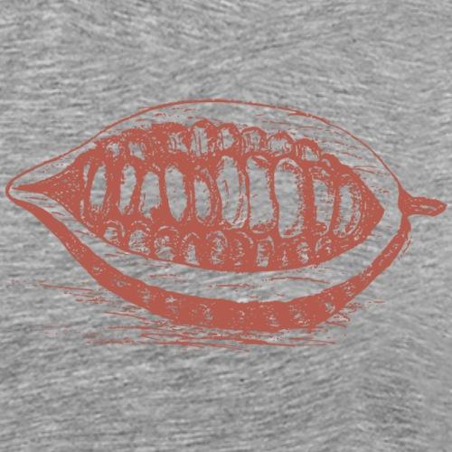 Kakao bean - Männer Premium T-Shirt