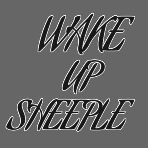 WAKE UP SHEEPLE - Männer Premium T-Shirt