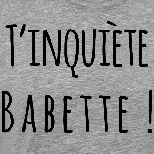Babette - T-shirt Premium Homme
