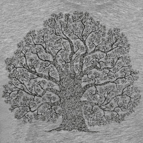 Tree of life - Yggdrasil - Herre premium T-shirt