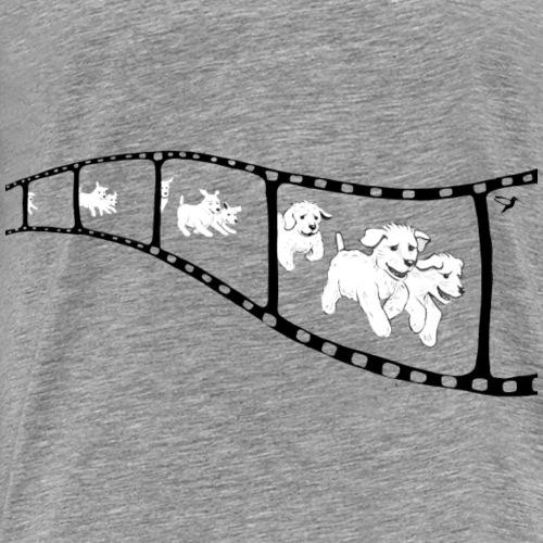 Welpen Kopfkino - Männer Premium T-Shirt
