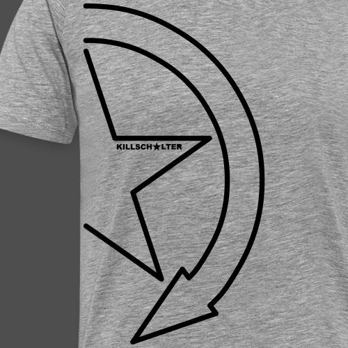 Logo marki 1/2 - Koszulka męska Premium
