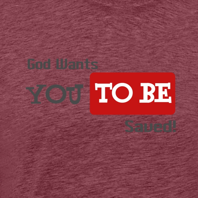 God wants you to be saved Johannes 3,16