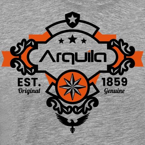 retro Adler Arquila - Männer Premium T-Shirt