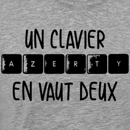 Clavier Azerty - T-shirt Premium Homme