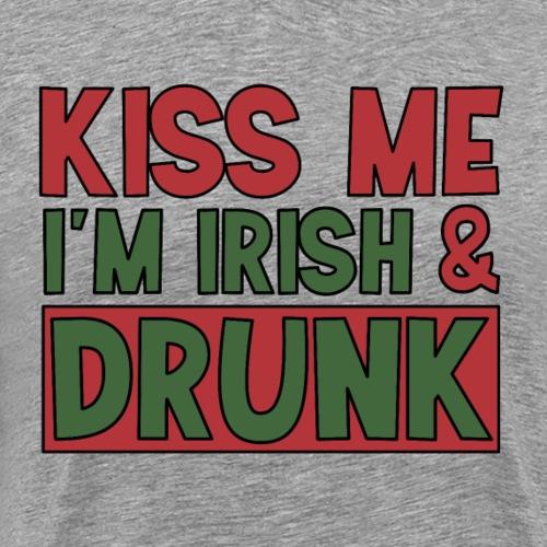 kiss me I'm Irish - St Patrick Party Bier trinken