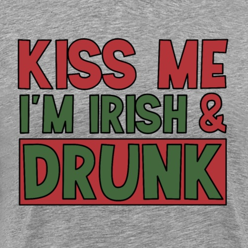 kiss me I'm Irish - St Patrick Party Bier trinken