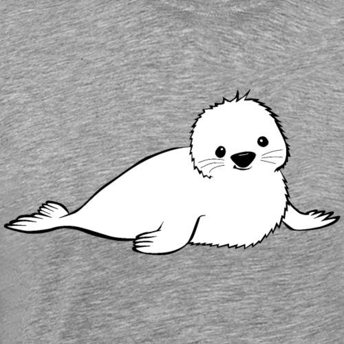 Robbe tanzt - Männer Premium T-Shirt