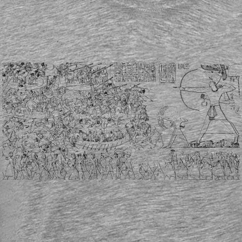 Medinet Habu Ramses III Popoli del Mare Egitto