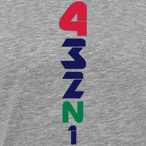 4 Gänge Gears 3 colors V-Form - Männer Premium T-Shirt
