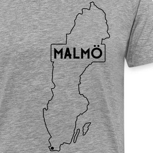 malmo eps - Premium-T-shirt herr
