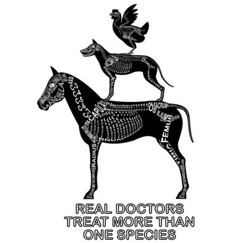 Real Doctors ... Kleintiere - Mannen Premium T-shirt