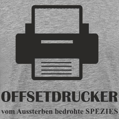 Beruf OFFSETDRUCKER - Männer Premium T-Shirt