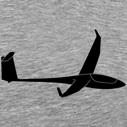 ASH 26 Segelflugzeug Segelflieger Geschenk gleiten - Männer Premium T-Shirt