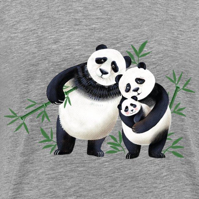 Pandafamilie Baby
