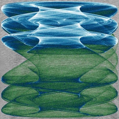 Aquarell Kunstgrafik Gemälde Bild Chaos 13753oce