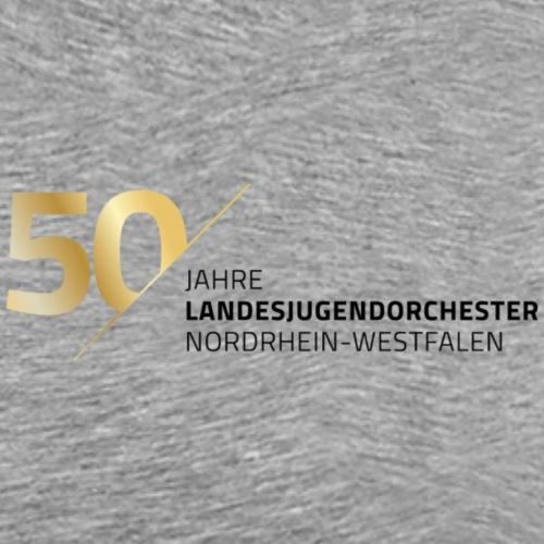 Schriftzug 50 Jahre LJO - Männer Premium T-Shirt